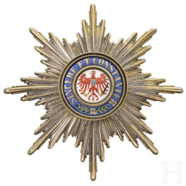 Red Eagle Order - A Grand Cross Breast Star