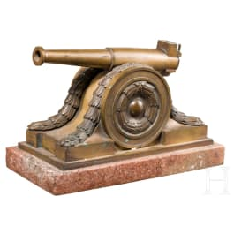 A Skoda gun model, circa 1920