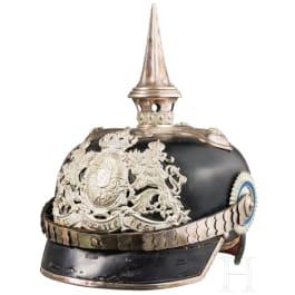 Helm M 1891 für Offiziere im Infanterie-Leib-Regiment