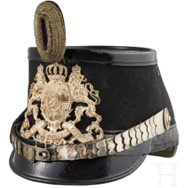 A shako for officers of the railway, telegraph, aviation and motor transport or flight battalions