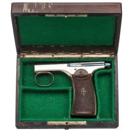 Brun Latrige palm pistol, Mod. 1890 France ca. 1895