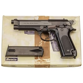 Beretta Mod. 92, frühes Modell, im Karton
