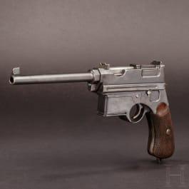 "A Mannlicher system semi-auto ""pistol carbine"", Mod. 1897/03"