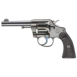Colt Police Positive 38 Model, 1. Ausführung, mit Colt-Brief