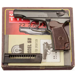 A Makarov Type 59, new in box