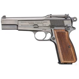FN HP Mod. 35, mit Anschlagbrett, Finnland-Kontrakt