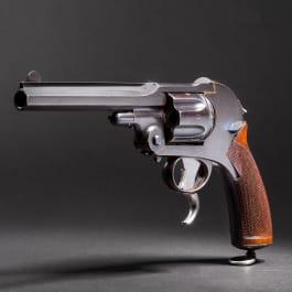 A Schlund revolver construction, Kynoch Gun Factory Aston, prototype 1885