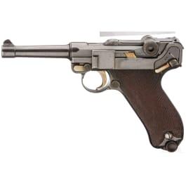 Pistole 08, DWM 1910, ohne Kammerfang, Bayern