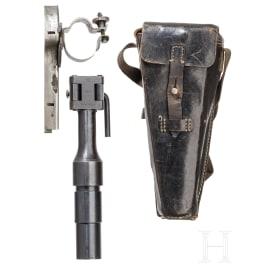 Gewehrgranatgerät 42 für K 98 k, komplett, mit Tasche