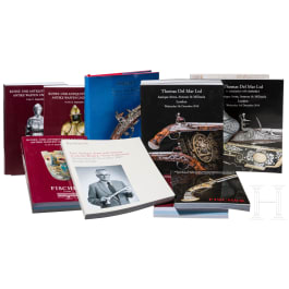 A collection of auction catalogues