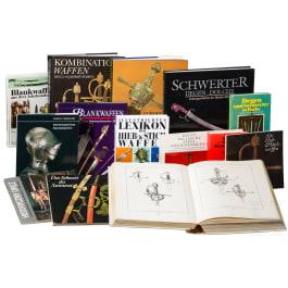 14 Bücher zum Thema Blankwaffen