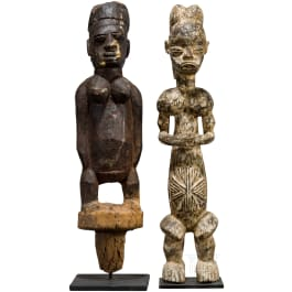 Zwei große Figuren, Afrika