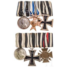 Bavaria - two medal bars