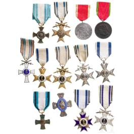 Bavaria - a small medal collection