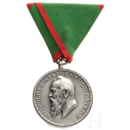 A Bavarian Agricultural Anniversary Medal in Silver, 1910