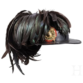 A hat and a cover for Bersaglieri, 1st half of 20th century