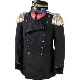 A light cavalry officer's uniform, 1st half of the 20th century