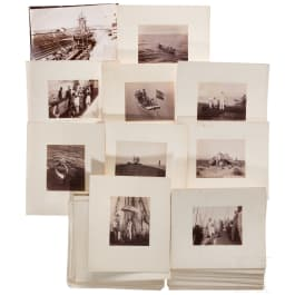 A photographic estate S.M. ship POLA of the k. u. k. navy - Austro-Hungarian deep-sea expeditions 1890 - 1898