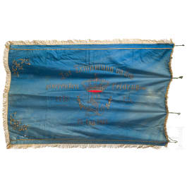 A veteran´s flag, Großeibstadt, dated 1895