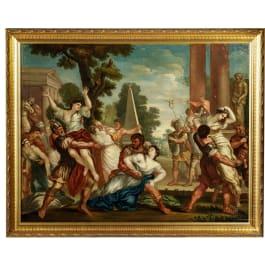 """""""Der Raub der Sabinerinnen"""", nach Pietro da Cortona, Italien, 18./19. Jhdt."""