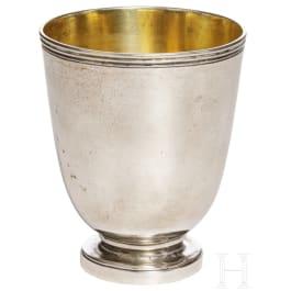 A silver beaker, Paris, circa 1800-1820