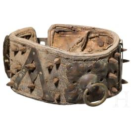 A German dog collar, circa 1700