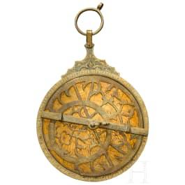 A Persian astrolabe, 20th century