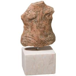 A Southeastern European Vinca statuette, 4th millennium B.C.