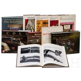 10 Bücher über vorwiegend amerikanische Feuerwaffen