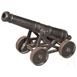 A miniature cannon, 19th century