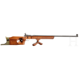 A single loading rifle Valmet M 55, with diopter
