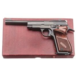 Unique Mod. D 6, target pistol, in box