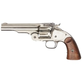 Smith & Wesson First Mod. Schofield - Wells Fargo, vernickelt