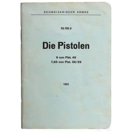 Originale Schweizer Anleitung für die Pistolen 49 und 06/29
