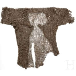 A fragment of an Indian mail shirt, 17th/18th century