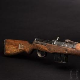 "A semi-automatic rifle K 43, coded ""duv - 44"""