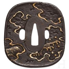 A Japanese tsuba, circa 1830