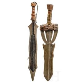 Two African swords