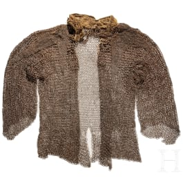 A Polish or Hungarian light cavalryman's (hussar) coat of mail, 2nd half of the 16th century