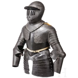 A German or Italian suit of armour for a cuirassier, 1st half of the 17th century