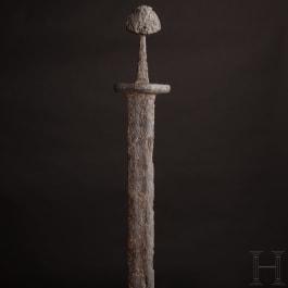 A Scandinavian Viking sword, 9th/10th century