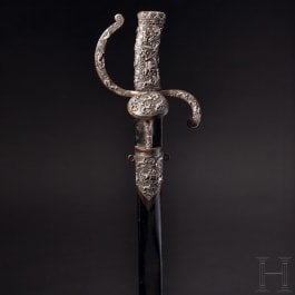 A French luxury hunting sword, circa 1580