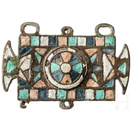 A Visigothic decorative plaque, 6th - early 7th century