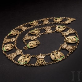 The Imperial Mexican Order of the Eagle – a reduced-size collar chain