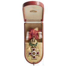 Leopold-Orden – Kommandeurkreuz mit Kriegsdekoration