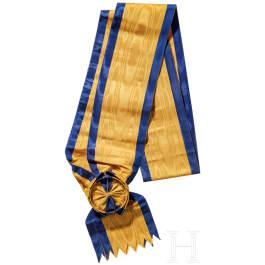 Schärpe für Ritter der 1. Klasse des Ordens der Eisernen Krone