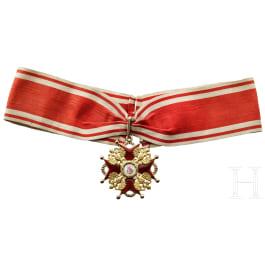 A Russian Order of St. Stanislaus 2nd Class Cross, circa 1910