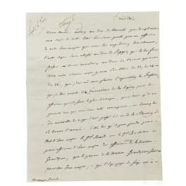 Napoleon I – a letter signed by his own hand, Vitebsk, 1.8.1812