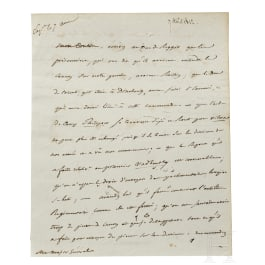 Napoleon I – a letter signed by his own hand, Vitebsk, 7.8.1812