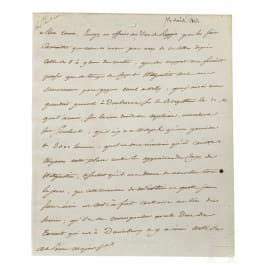 Napoleon I – a letter signed by his own hand, Vitebsk, 12.8.1812